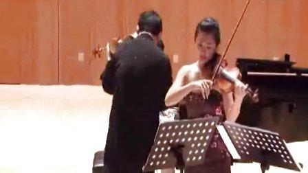 纳瓦拉(为两把小提琴而作)----萨拉萨蒂 小提琴: 李传韵&杨璟