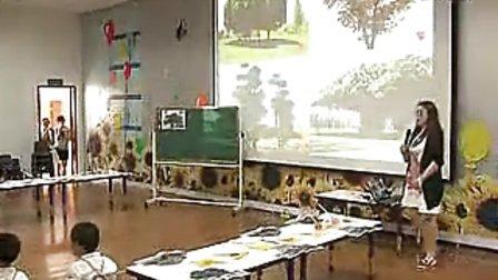 中班美术活动《马路边上的树》上海幼儿园名师优质课袁晶晶