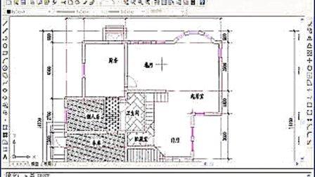 洛阳CAD建筑室内家装培训--CAD室内家装地板和天花平面图绘制