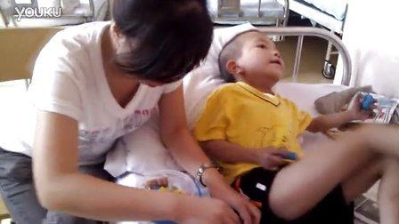 2011-08-03春苗社工亭亭第一次在医院陪伴患儿