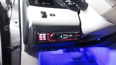 【中山道声】新骐达尾箱隔音+主机倒模+阿尔派117E+LED灯条