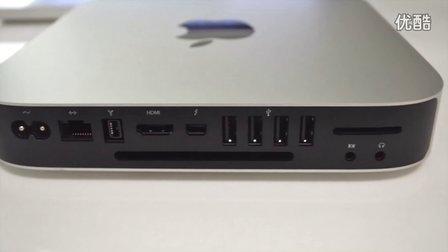 苹果mac mini 2012新款开箱与测试 谢飞