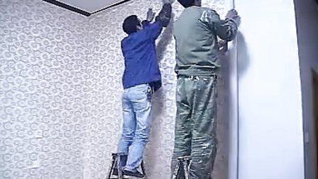 绮珍无缝墙布推荐冷胶无缝墙布施工演示及方法(二)