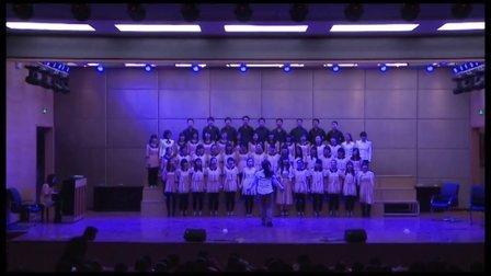 郑州外国语高二合唱比赛节选