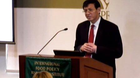 2012年全球粮食政策报告发布讲座_樊胜根