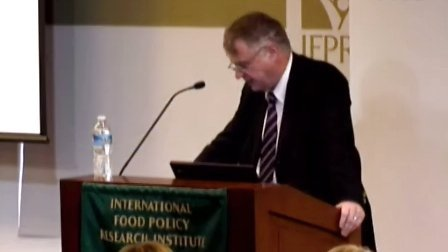 2012年全球粮食政策报告发布讲座_Michael Elliott