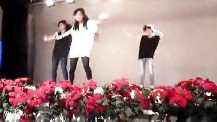 兰炼二中2011届国际班艺术节舞蹈第一名