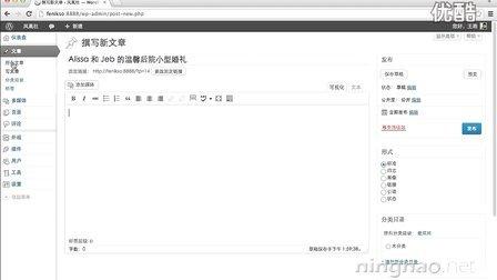 03-01-发布文章 - WordPress 教程