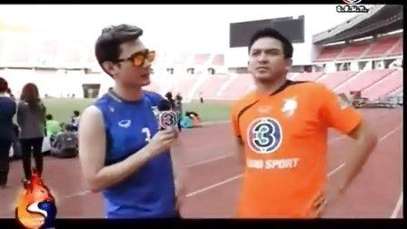 20130405 Poh哥选Yaya在4月6日3台足球赛为橙队加油鼓励