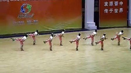 2012晋中国际柔力球赛晋中代表队