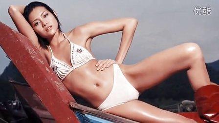 [百事高]林志玲泰国泳装拍摄