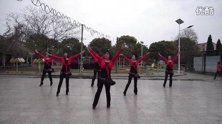 上海市青浦区蒸淀镇芳芳广场舞-《你怎么说》