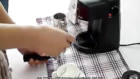 柏翠PE3800咖啡机 操作演示