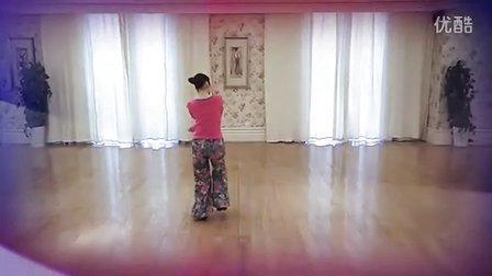 《寻找香格里拉》紫紫雨广场舞 附応子口令+背面演示(南京聚会版