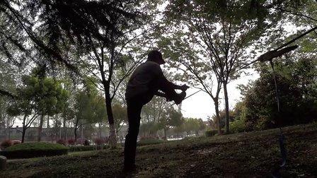 1349南京雨花台不倒走扁带练习