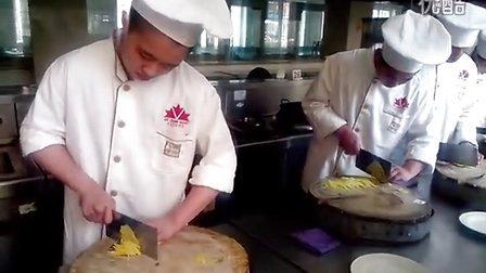 青岛厨师培训 山东最专业厨师培训学校 红叶谷厨师学校 刀工比赛视频