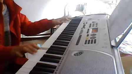 运动员进行曲 电子琴