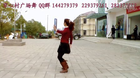 穿心村文雯广场舞《醉月亮》背向动作演示