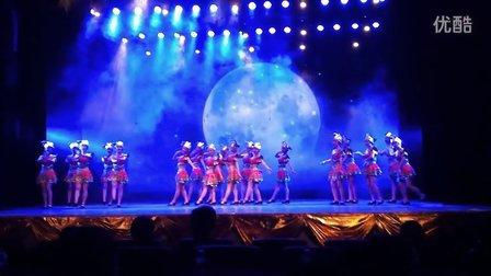 广西艺术学院11级音教四班《喊月亮》演唱
