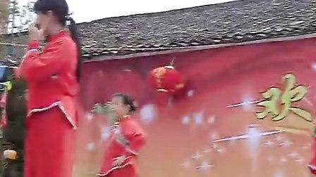 广西桂林市荔浦县大塘镇五登村刘三姐三月三山歌节表演节目2