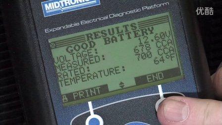 Midtronics-EXP-1000 HD-Single Battery Test-Tractor/Truck