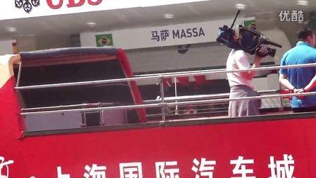 2013上海站拉猪车