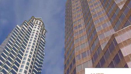 高楼大厦-视频素材