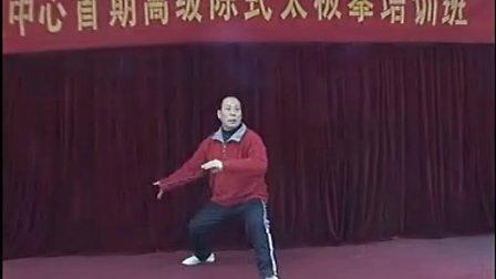 张志俊 邯郸市第二期陈市太极拳高级培训班实况录像
