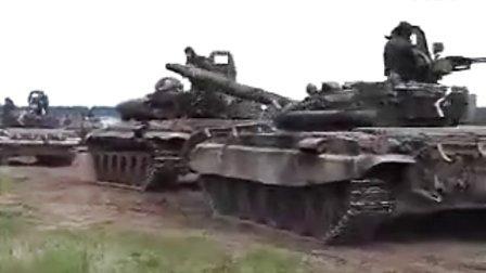 人类vs坦克 俄国人又搞事了