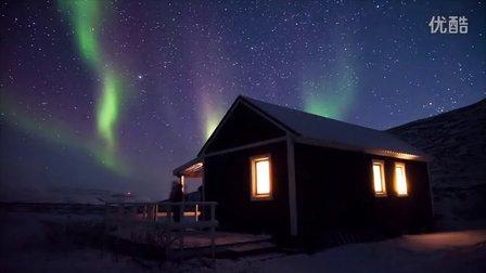 格陵兰极光Northern lights