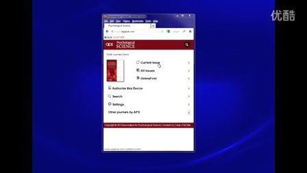SAGEJournals平台 6-- 移动终端页面操作演示