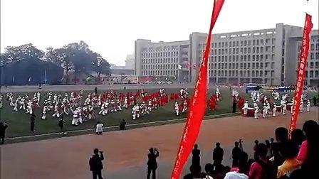 杨凌职业技术学院2013春季运动会开幕式(史上最牛)