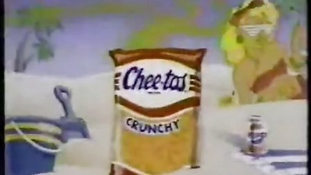 奇多广告(奇多豹超搞笑) Cheetah Cheetos Crunch Commerical