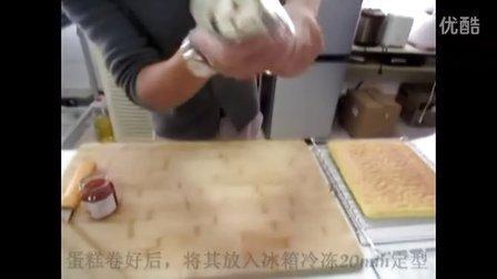 美的电烤箱MG38MD-ADRF制作虎皮天使蛋糕卷