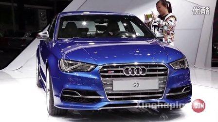 新车评第一现场2013上海车展——奥迪A3
