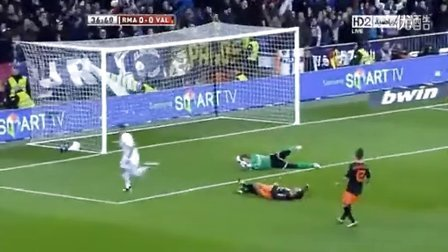 Karim Benzema Goal _ Real Madrid 2 - 0 Valencia (H