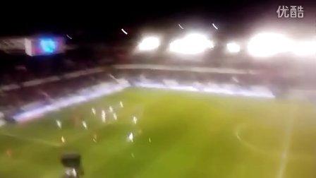 Partido Osasuna- Real Madrid en Pamplona 12_01_201