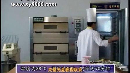 面包培训多少钱,怎样学做面包,菠萝面包制作