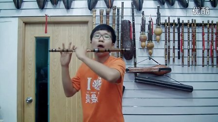 2012杭州比赛笛子第一名王瀚秦川情