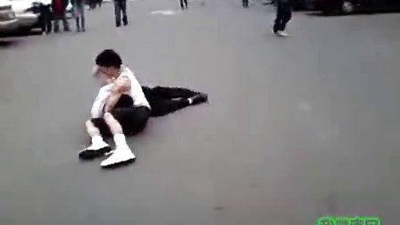"""【鑫丽宸灬HD】街斗中难得见到的""""断头台""""  打架斗殴"""
