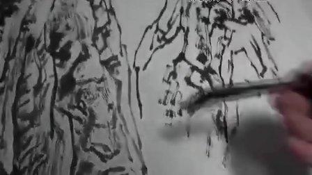山水视频欣赏(旭日东升图)中——魏剑峰