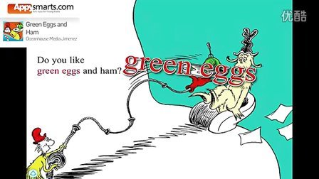 Top 100排名第十二 Green Eggs and Ham - Dr. Seuss - book