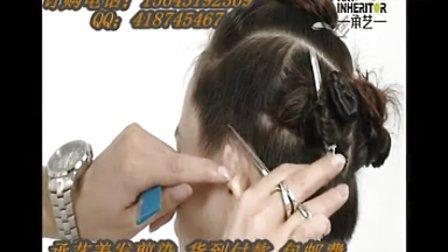 时尚美发造型 短发理发 剪发视频、