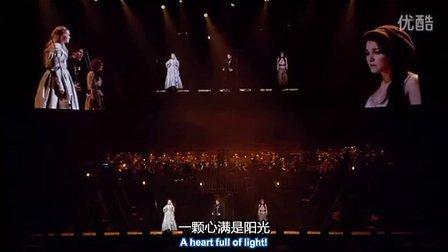 《悲惨世界》马吕斯和珂赛特深情演唱表白