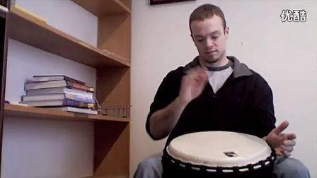 如何用非洲鼓打出架子鼓的感觉--教程