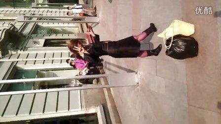 哈尔滨中央大街重口味伪娘!毁三观!