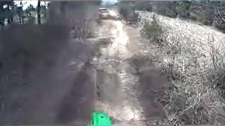 KLX300林道极速穿越