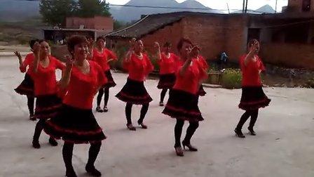 湖北省黄石市阳新县富水镇车桥村业余广场舞之我要去西藏