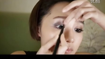 荔枝儿非主流烟熏妆 阳光妩媚新妆法
