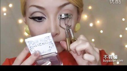 很动人的cosplay大眼妆 眼部化妆视频